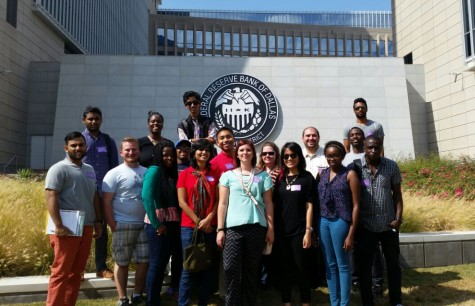 Economics and Finance Society takes a trip to the Federal Reserve Bank of Dallas