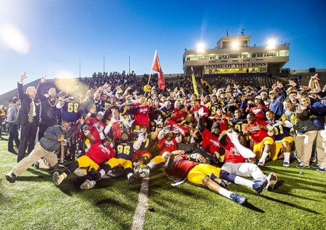 Lions football claims LSC title