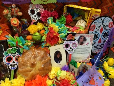 part of a Dia de los Muertos altar by ¡Profes!