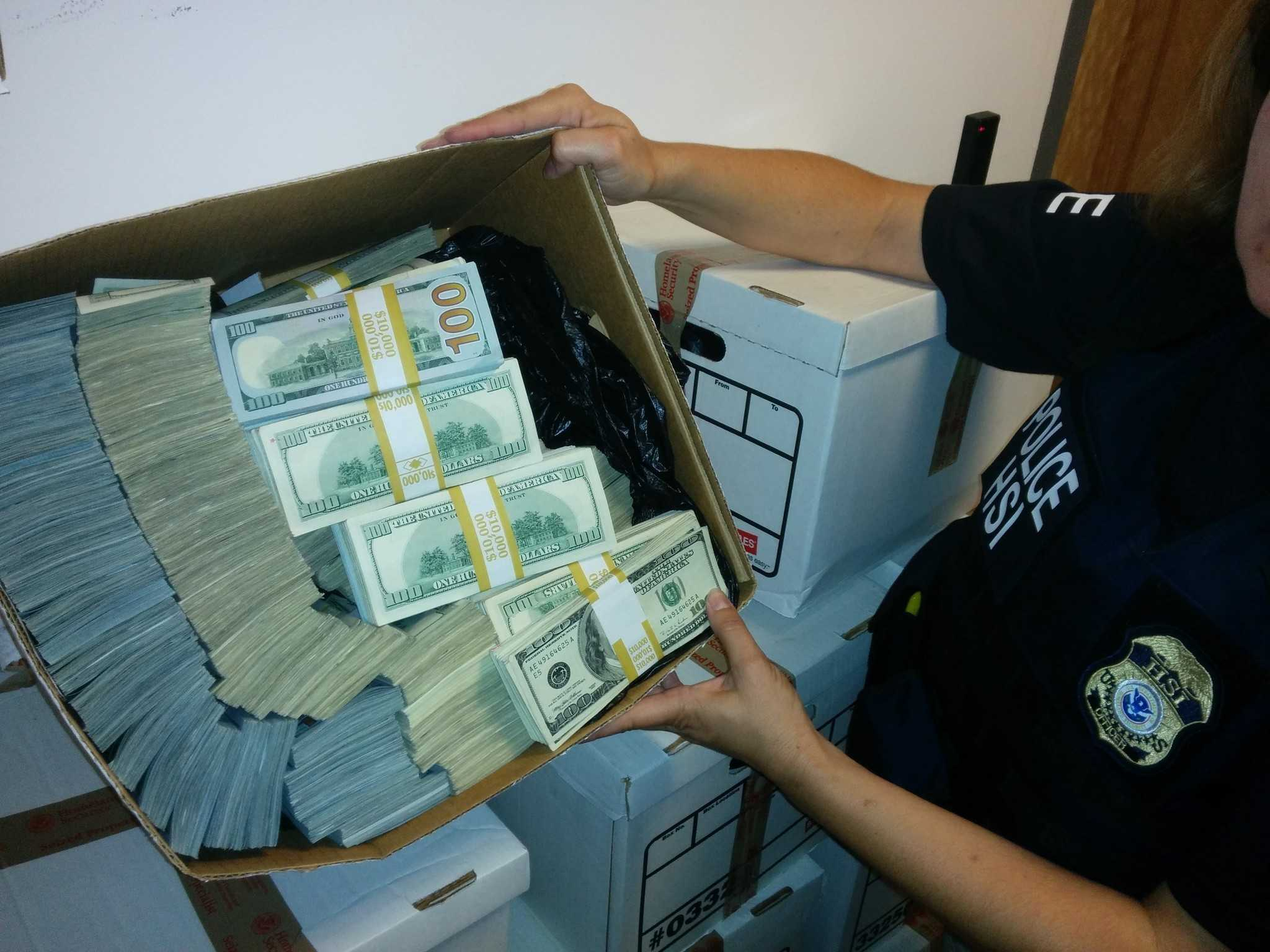 The results of a civil assets forfeiture.