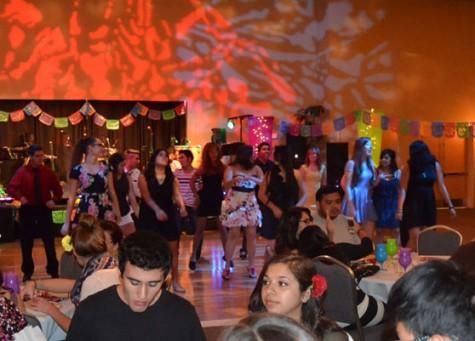 Salsa night on campus