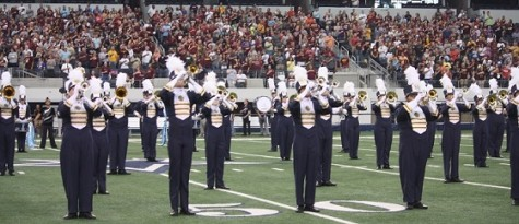 Pride Marching Band Stands Proud