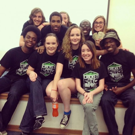 Improv Troupe Brings Laughs and Smiles