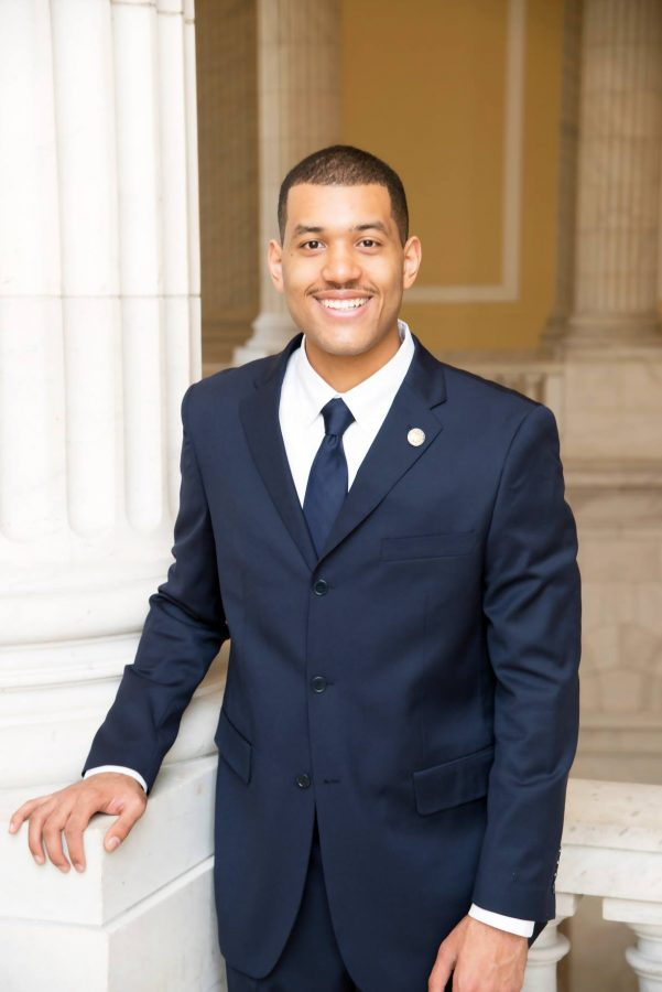 Williford in his official photograph with the Congressional Black Caucus Foundation