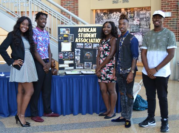 African Student Association and Pikes