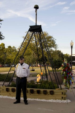 Their Sacrifices Still Burn Brightly: 2016 A&M-Commerce Veterans Vigil in Pictures