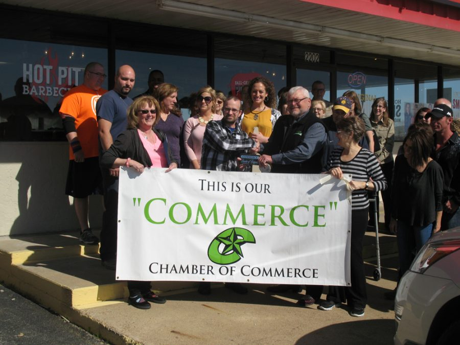 Commerce+Celebrates+New+Businesses+with+Ribbon+Cutting