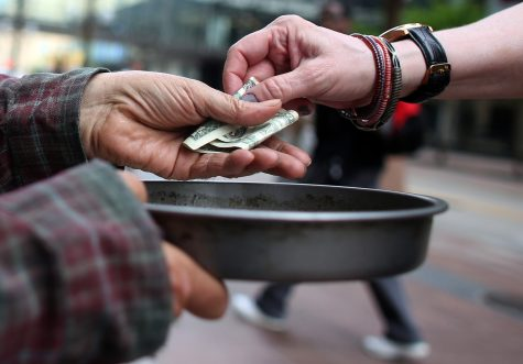 Panhandling Attracts Attention in Hunt County