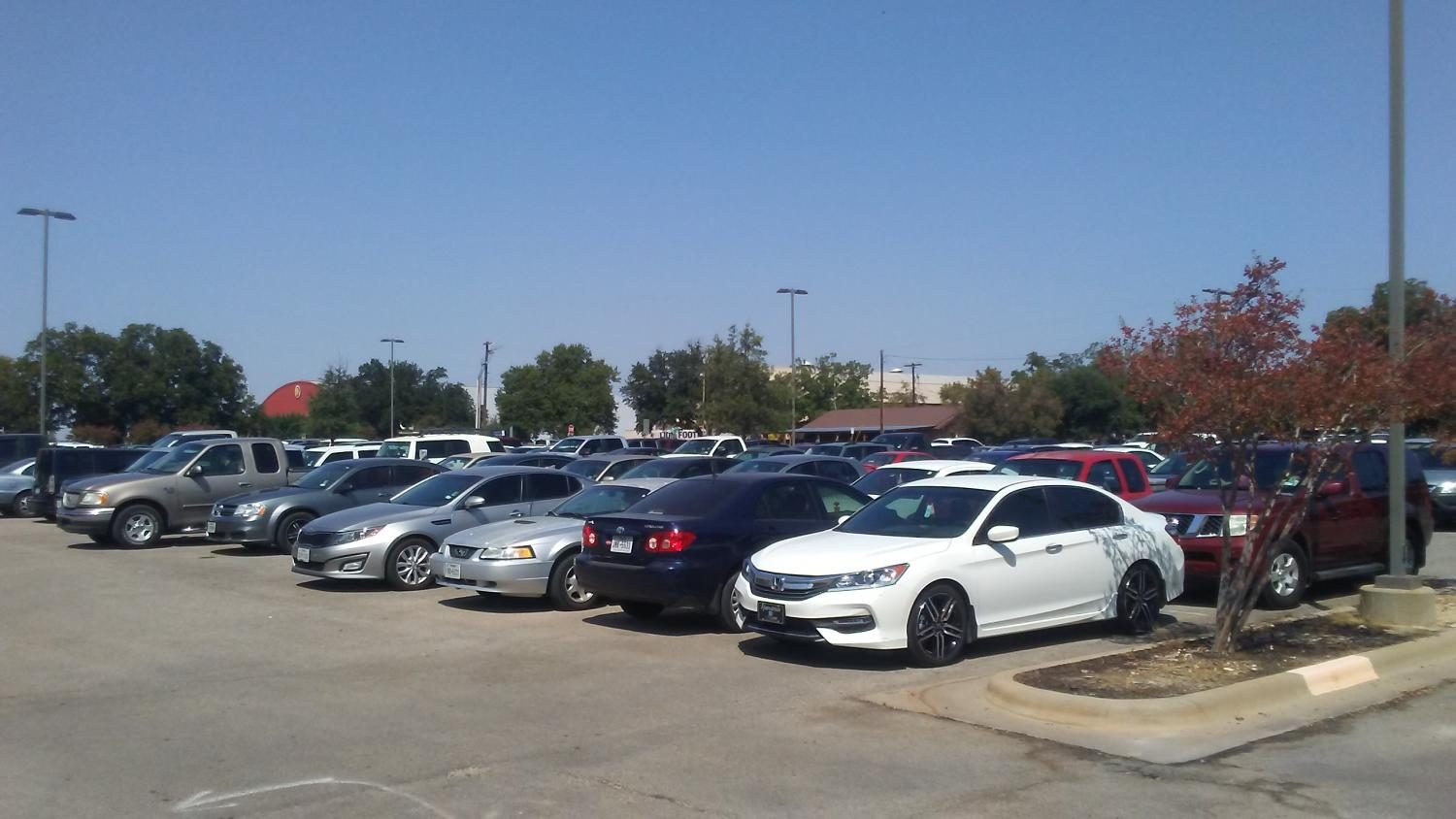 Parking Lot 5, located outside of Ferguson and Gee Library.