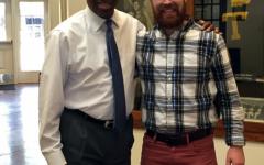 Alumni Director unknowingly helped by fellow alumnus