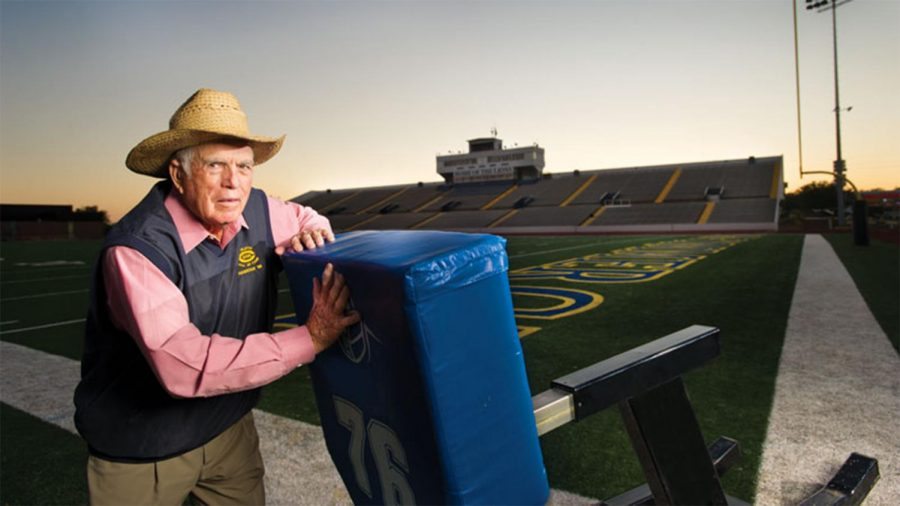 The Lions will rename the football field in honor of their winningest coach.