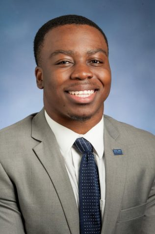 Homecoming King Candidate Uche Oleru