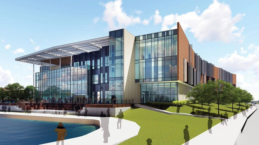 A rendering of the Nursing Building set to open in Fall 2019. Photo Courtesy | A&M-Commerce Twitter