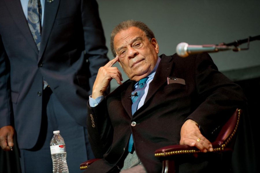 Former UN ambassador Andrew Young Photo Courtesy | TAMUC
