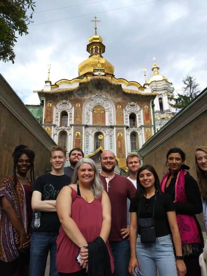 Last years trip to Ukraine was a great experience for the students and Dr. Rodriguez (not pictured) as they traveled to Kyiv, Kharkiv, and Odesa during the summer of 2017. A new group of students will return with the professor this summer.