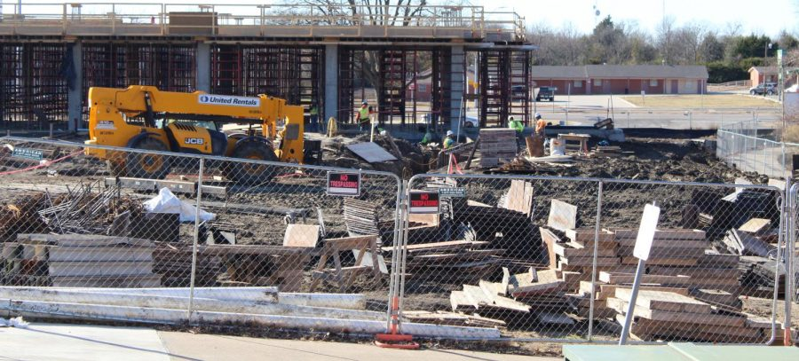 Construction, renovations continue around campus