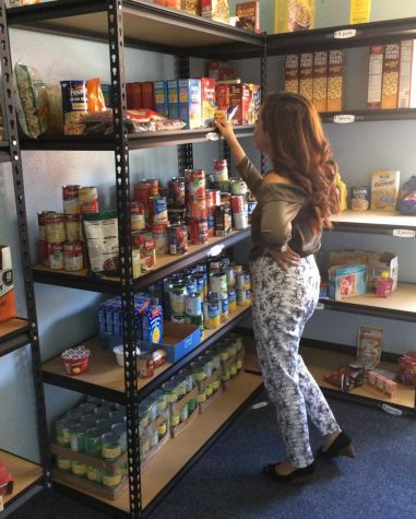 Lion Food Pantry launches first full semester on campus