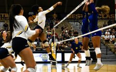 [Photos] Volleyball takes down DBU 3-1