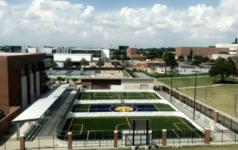 New turf on MAC courts inspires outdoor activities