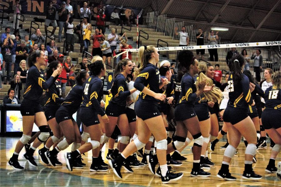 The A&M-Commerce Volleyball team will be the second seed in the upcoming LSC Tournament