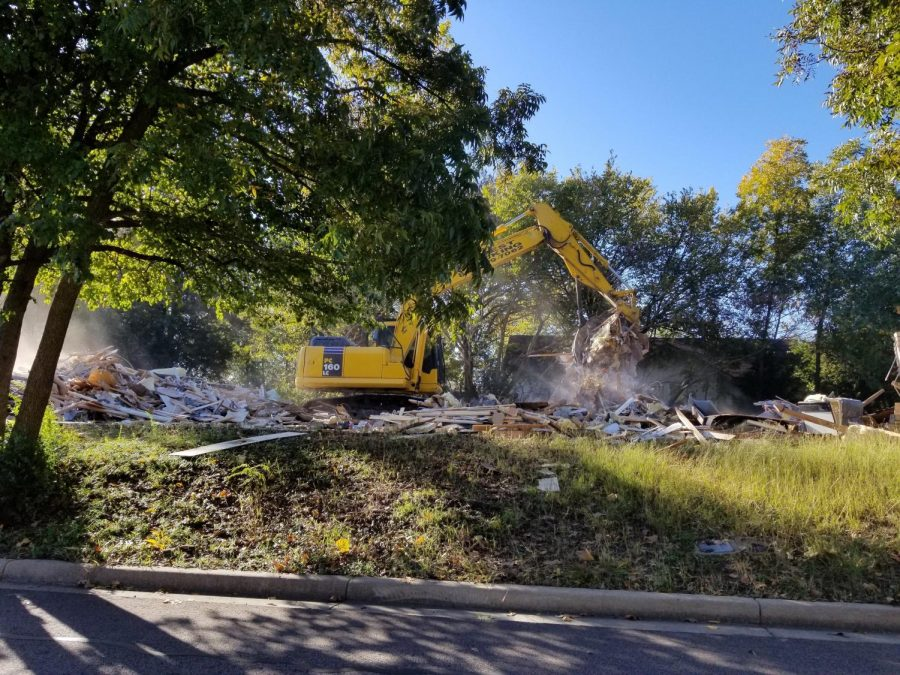 After being disbanded in early January, the building was finally torn down