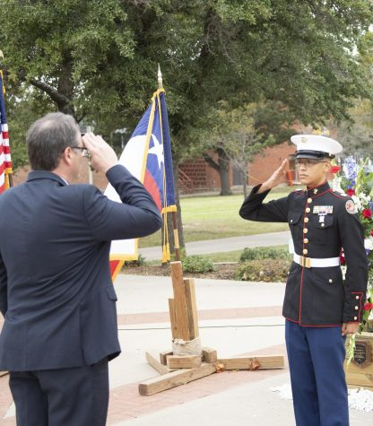 Veterans' Vigil to be held on campus Nov. 8