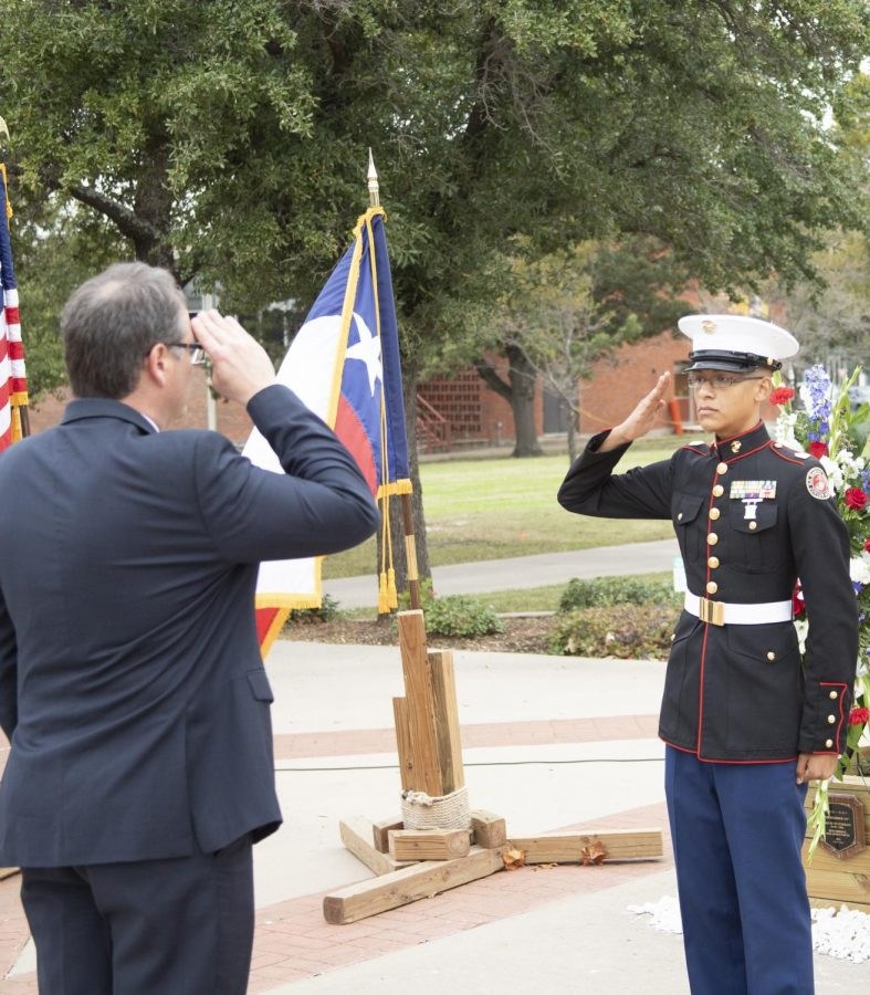 On Nov. 8, Veterans gathered to honor fellow soldiers on campus