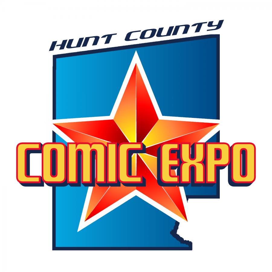 The Hunt County Comic Expo logo. Photo Courtesy | huntcountyexpo.com