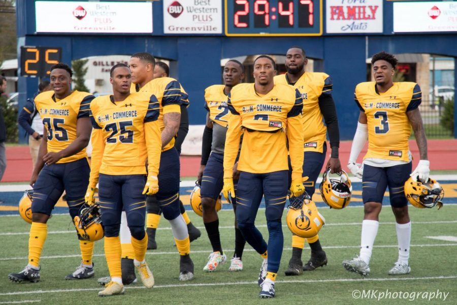A&M-Commerce finishes the season 10-3 after falling to Tarleton State in the second round of the NCAA D2 Playoffs | Photo by Mikayla Maldonado