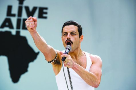 "Rami Malek stars in his Academy Award-nominated role of Freddie Mercury in ""Bohemian Rhapsody"". Photo Courtesy 