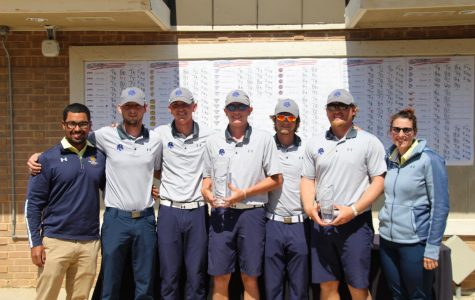 The A&M-Commerce men's golf team picked up their first win of the 2018-2019 campaign | Photo by Tyler McDonough
