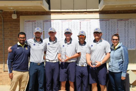 Lion Men's Golf gets big comeback win at Dallas Baptist