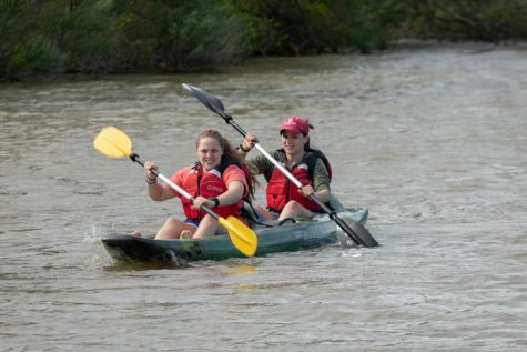 [Photos] Campus Recreation Hosts Kayaking Clinic