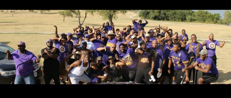 Omega Psi Phi Fraternity members