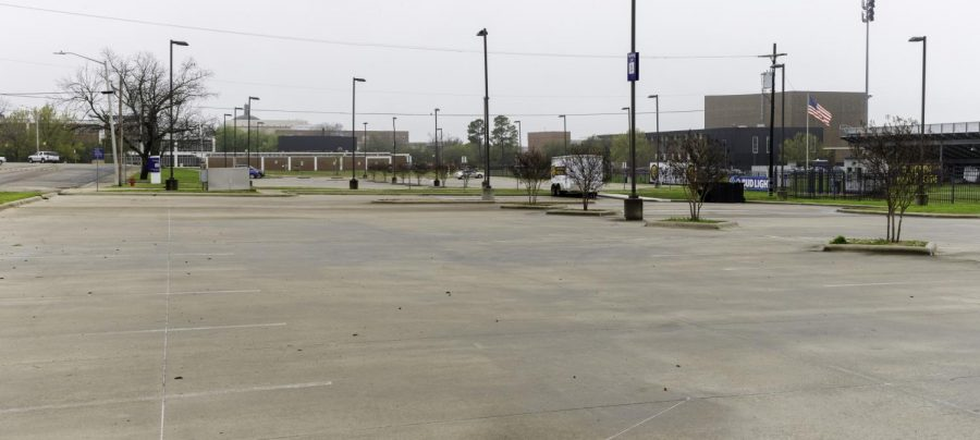 A+campus+deserted