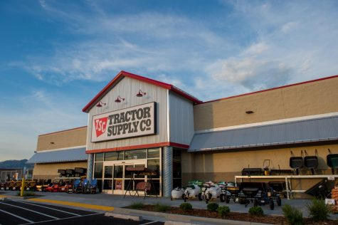Tractor Supply Company storefront