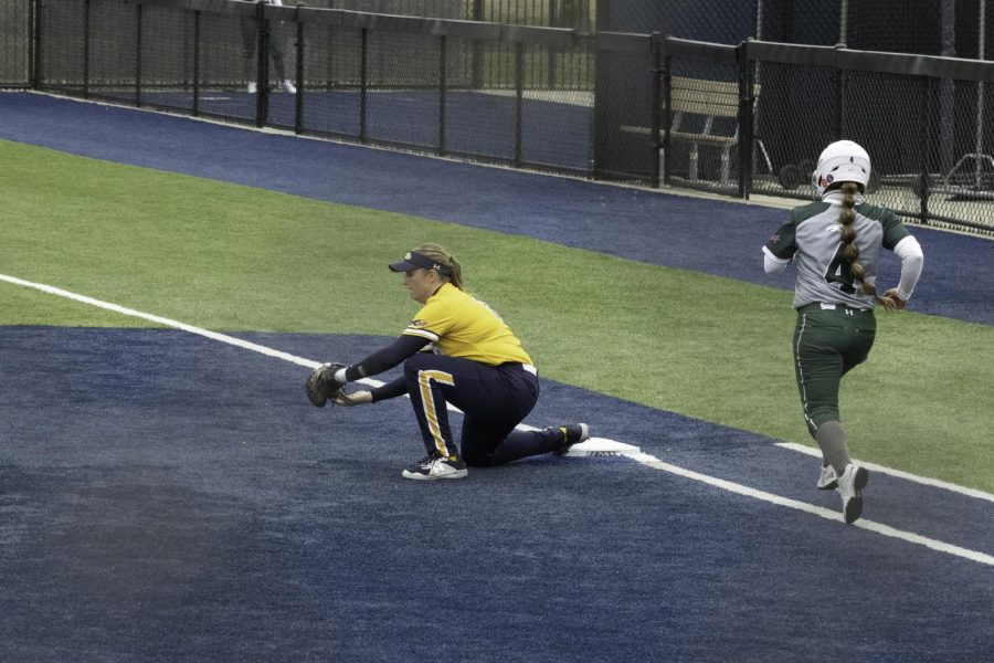 Lion softball team wins five-inning game 12-0 against Eastern New Mexico [Photo Gallery]