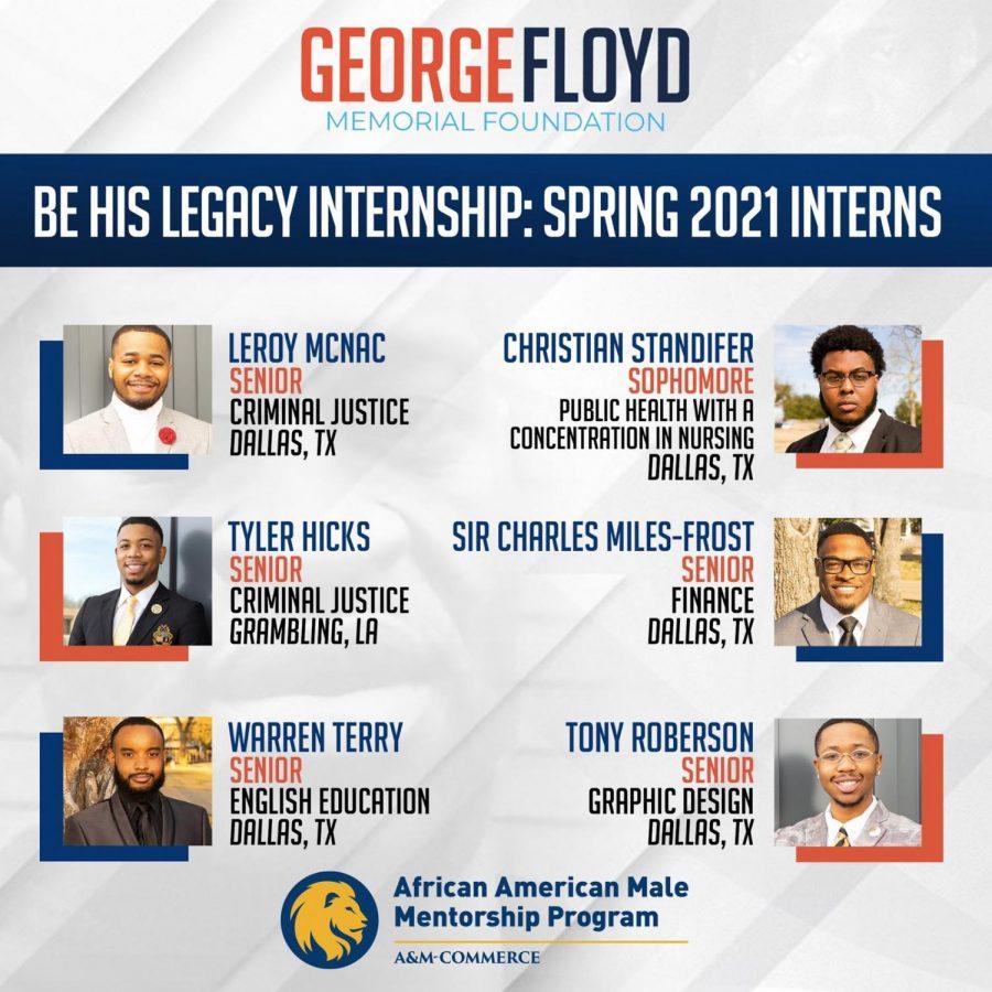 George Floyd Memorial Foundation Internship Recipients